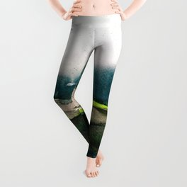 layers of colour 1 Leggings