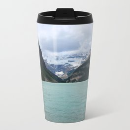 Lake Louise From The Eastern Shore Travel Mug