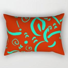 Apple for teacher Rectangular Pillow