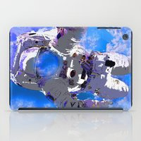 astronaut iPad Cases featuring Astronaut  by Saundra Myles