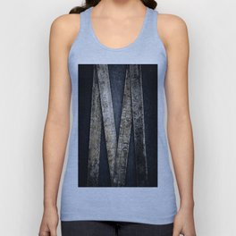 Rusty Folding Steel Rule Unisex Tank Top