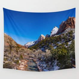 Virgin_River 4767 - Canyon Junction, Zion Utah Wall Tapestry
