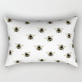 Bumble Bee pattern Rectangular Pillow