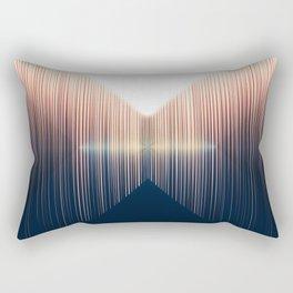 Opposing Dimensions Rectangular Pillow