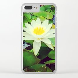 The Waterlily Opens Clear iPhone Case