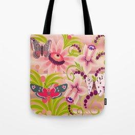 Flutter Butterflies Tote Bag