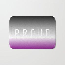 Asexual Flag v2 - Pride Bath Mat