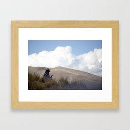 Peruvian Countryside Framed Art Print