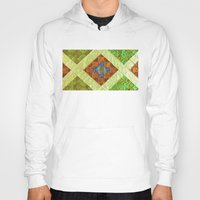 arab Hoodies featuring arab stained glass by tony tudor