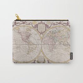 World Map 1782 Carry-All Pouch