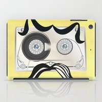 tape iPad Cases featuring Tape Masculine by Texnotropio