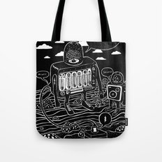 sound check Tote Bag