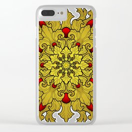 Filigree v1 Clear iPhone Case