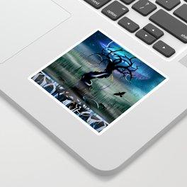 Yggdrasil & the Nine Realms Sticker