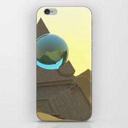 Science Fiction Desert Scene iPhone Skin