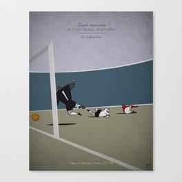 Geoffrey Hurst Canvas Print