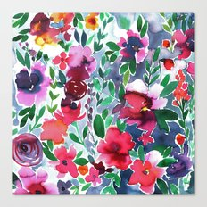 Evie Floral Canvas Print