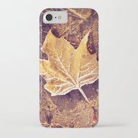fitzgerald iPhone & iPod Cases featuring Autumn Frost by Elke Meister