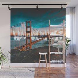 WANDERLUST San Francisco Wall Mural