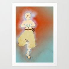 the Monk Art Print