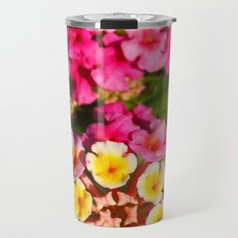 Lantana flowers Travel Mug