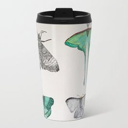 moth collection Travel Mug