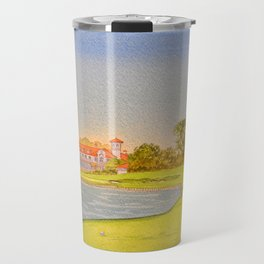 TPC Sawgrass Golf Course 18th Hole And Clubhouse Travel Mug