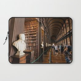 The Long Room of Trinity College Library in Dublin, Ireland Laptop Sleeve