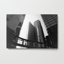 Hong Kong Architecture Metal Print