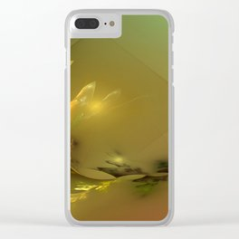 Light's coming Clear iPhone Case