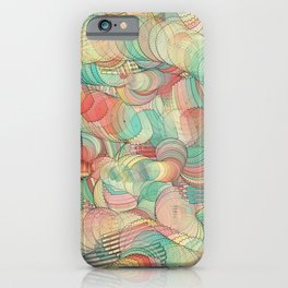 Graphic design eight by Leslie Harlow iPhone Case
