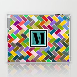 M Monogram Laptop & iPad Skin