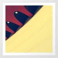 Curve 3 Art Print
