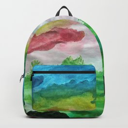 Valley of colors Backpack