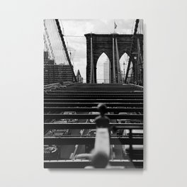 new york city ... brooklyn bridge IV Metal Print
