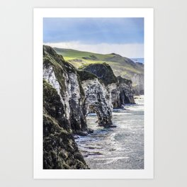 Travel to Ireland: A Castle View Art Print