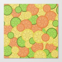 Zesty Pattern Canvas Print