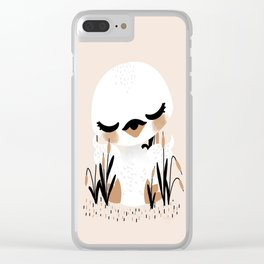 The Animignons - Swan Clear iPhone Case