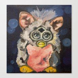 Furby Canvas Print