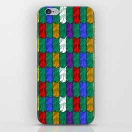 Feathers Pattern iPhone Skin