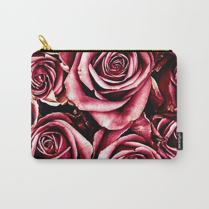 Vintage roses(4) Carry-All Pouch