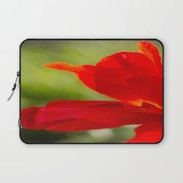 Long Stem Red Rose Laptop Sleeve