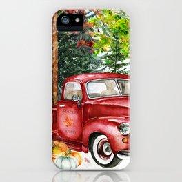 Maple Farms iPhone Case
