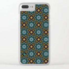 Fleur 1 Clear iPhone Case