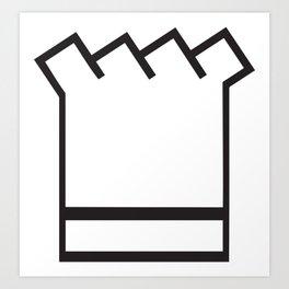 Chef In The Kitchen Art Print