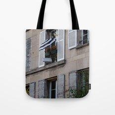 Parisian Awning Tote Bag