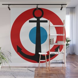 Roundel of French Navy Air Arm  Wall Mural