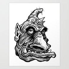 Qarll Art Print