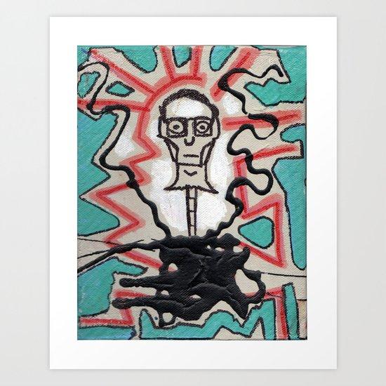 Mr. Ned Art Print