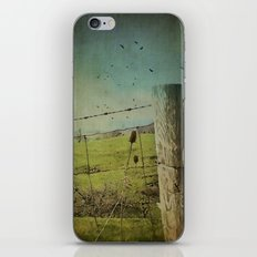 Wild West Fence  iPhone & iPod Skin